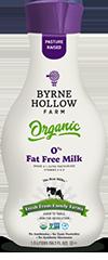 0 Fat Free - Organic Milk