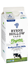 BHF Organic Small - Organic Milk - 2 percent Reduced Fat
