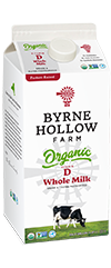 BHF Organic Whole Small - Organic Milk - 2 percent Reduced Fat