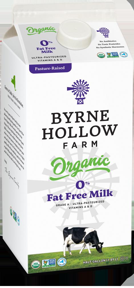 BHF Organic skim470x1009 0 - Organic Milk - 0 Percent Fat Free