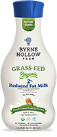 organic grass fed milk 2 percent reduced fat example from byrne hollow farm