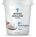 BHF greek yoghurt small 0000 plain - Fat Free Plain Greek Yoghurt