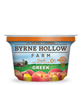 fruit on the bottom greek yogurt peach from byrne hollow farm