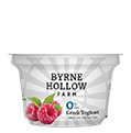 BHF greek yoghurt small raspberry - Fat Free Plain Greek Yoghurt