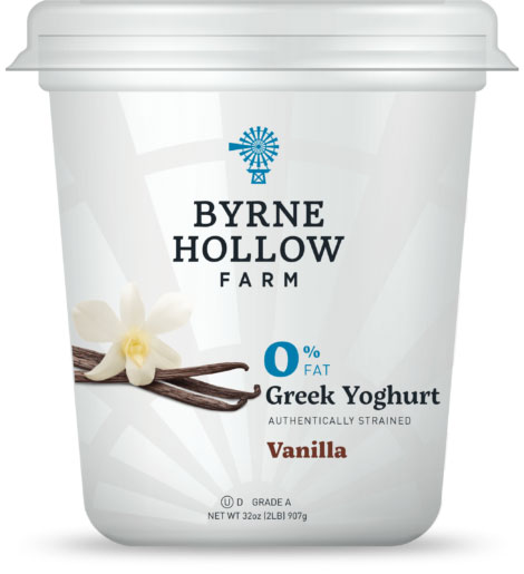 BHF greek vanilla - Vanilla Greek Yoghurt