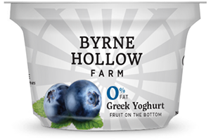 Blueberry Greek Yoghurt from Byrne Hallow Farm - Blueberry Greek Yogurt