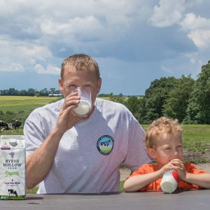 organic grass fed milk farm to table from byrne hollow farm