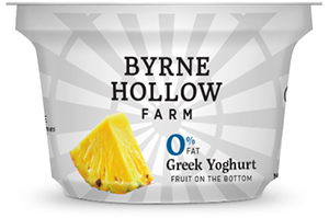 Pineapple Greek Yoghurt from Byrne Hallow Farm - Greek Yoghurt