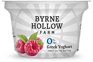 Raspberry Greek Yoghurt from Byrne Hallow Farm - Greek Yoghurt