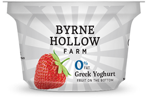 Strawberry Greek Yoghurt Byrne Hallow Farm - Greek Yoghurt